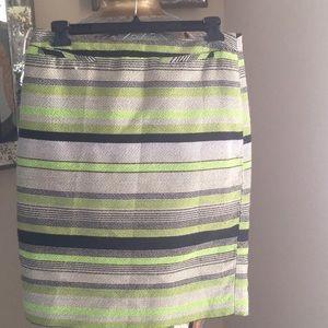 Vibrant pencil skirt